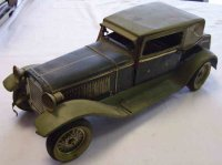 Bub Tin-Oldtimer Limousine with clockwork and driver,...