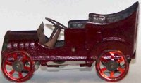 Unknown Tin-Penny Toy Car, on the hood marked made in...