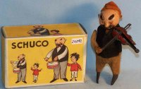 Schuco Tin-Dance Figures Father and son with violin
