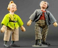 Schoenhut Wood-Figures Max & Moritz all wooden jointed...