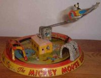 Marx Toys Mickey Mouse express