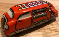 Hoefler J H Penny Toy Fire car