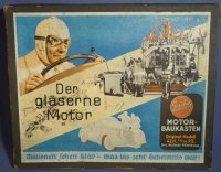 Gescha Tin-Kit-Cars The glass motor, for operation you...