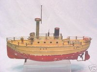 Bing Tin-Ships Ship with clockwork named Olympia