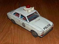 Ichiko Tin-Cars Police car