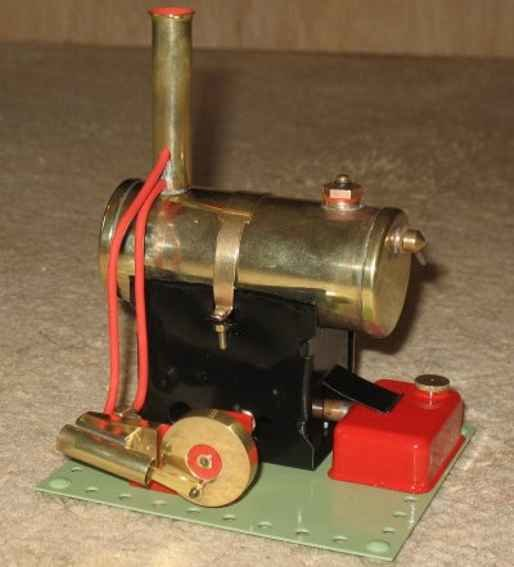 Bowman (Luton) Steam Toys-Horizontal Steam Engines Bowman Models in Luton are often confused with th
