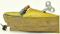 Bing Tin-Ships Speedboat lithographed tin, features two...