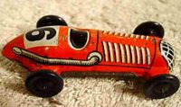 Distler Tin-Penny Toy Racing car lithographed without...