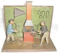 Bing Steam Toys-Drive Models Smith with two men