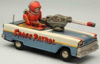 Nomura Toys Tin-Other-Vehicles Tin lithographed battery...