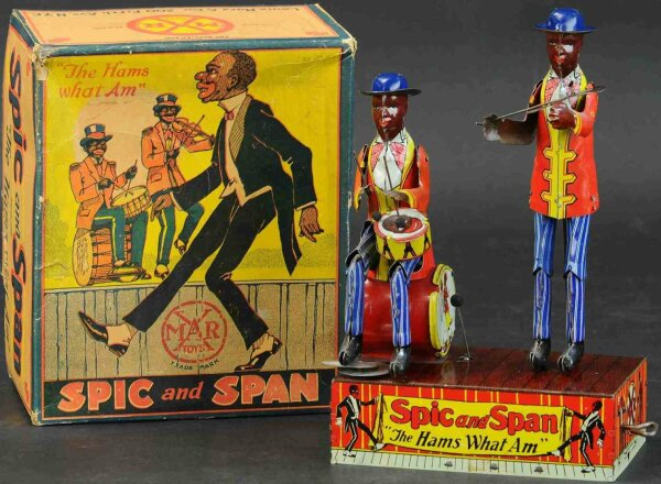 Marx  Figures Spic and Span