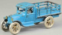 Arcade Cast-Iron trucks Ford model T stake truck, cast...