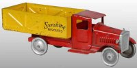 Metalcraft Corp. St Louis Tin-Trucks Dump truck made of...