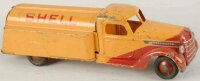 Buddy L Vehicles-Trucks tank truck Shell 20,5