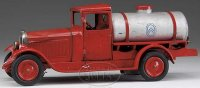 Citroen Tin-Trucks Red citroen tanker truck, features...
