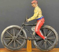 Martin Fernand Tin-Figures La Bicyclette, the champion...