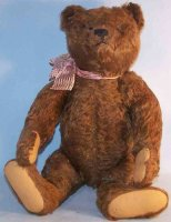 Steiff Baers Teddy bear with button in the ear made of...