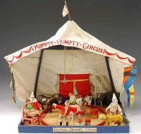 Schoenhut Wood-Toys HUMPTY DUMPTY circus tent reduced...