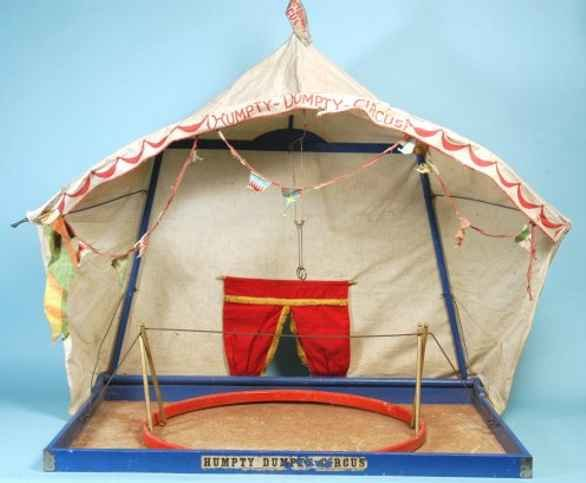 Schoenhut Wood-Toys Circus Tent version with original metal tightrope with woode  sc 1 st  DATABASE FOR OLD TOYS & DATABASE FOR OLD TOYS