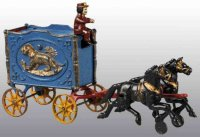 Hubley Carriages Tiger cage 2 horses