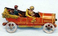 Meier Tin-Penny Toy Touring Car Germany, open tourer with...