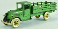 Kenton Hardware Co Cast-Iron trucks Speed truck in green