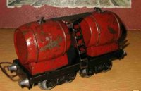 JEP Railway-Freight Wagons Tank car 4-axis red