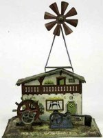 Krauss Wilhelm Steam Toys-Drive Models Mill house with...