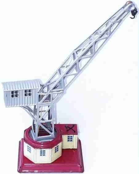 Bub Railway-Cranes Harbor crane with windup, lift up and down plus left and rig