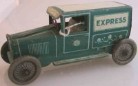 Greppert & Kelch Tin-Trucks Van with clockwork