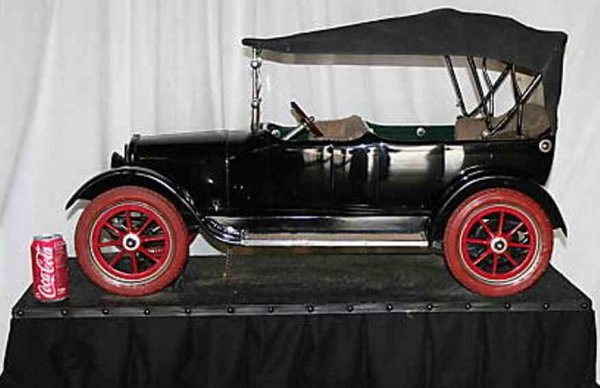 Star Motor Co. Tin-Oldtimer Salesmans Sample and Patent Model of a Touring Car. This is