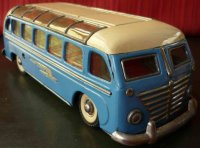 Guenthermann Tin-Buses Bus rare lithographed bottom,...
