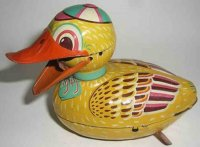 Unknown Tin-Animals Duck with friction drive from the...