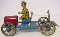 Nonpareil Toy & Novelty Co Tin-Fire-Truck Fire ladder...