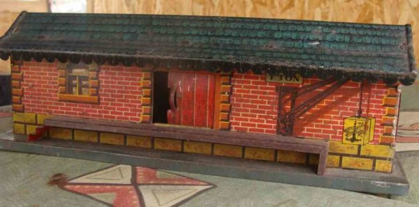 Brimtoy Railway-Freight Station/Accessories Freight shed