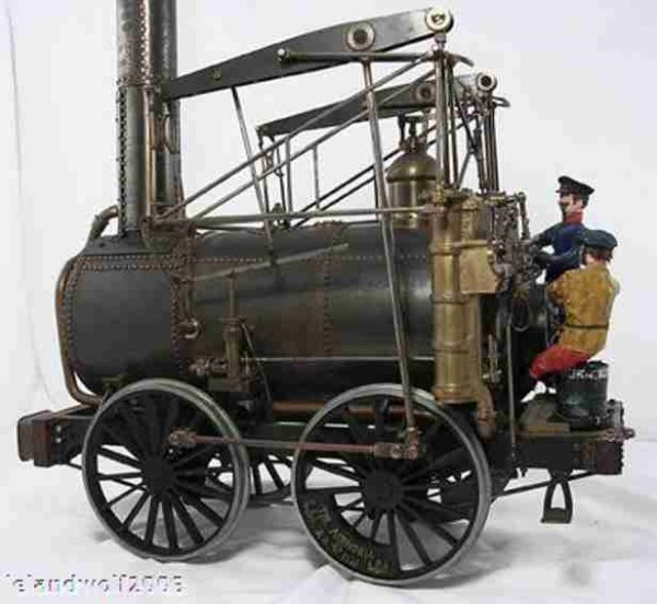 Foster Rastrick & Company Steam Engines-Mobile Lokomobile The Agenoria, this is the model made by Fo