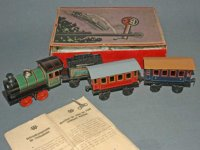 Bing Railway-Trains Floor train with loco, tender and 2...