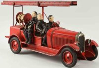 Citroen Tin-Fire-Truck Fire ladder truck including hand...