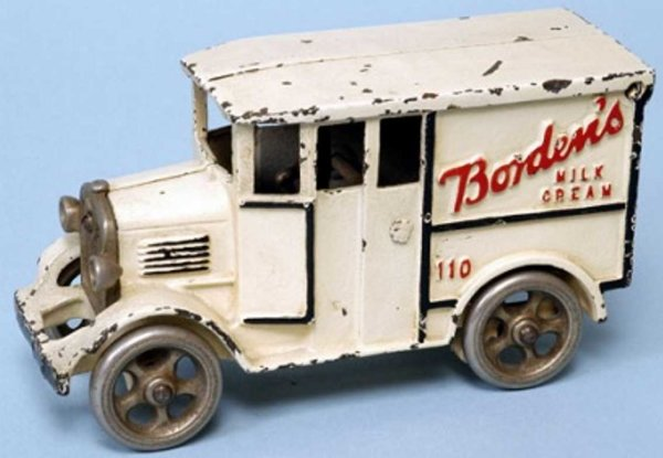 Rich Toys Inc. Tin-Oldtimer Van Bordens milk cream 110