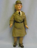 Freundlich Ralp A. Dolls Military young woman from WWII....