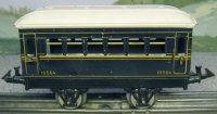 Bing Railway-Passenger Cars Passenger car with four...