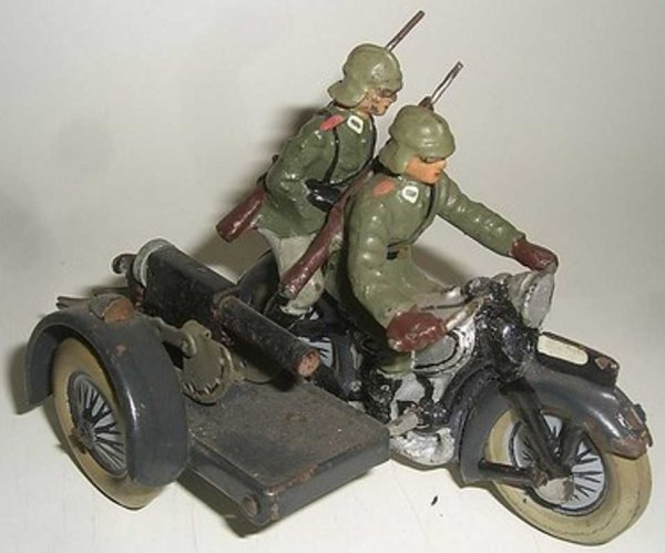 Lineol Tin-Motorcycles Motorcycle