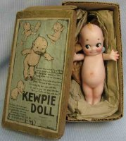 O Neill Rose Dolls Bisque Kewpie with bisque and paint,...