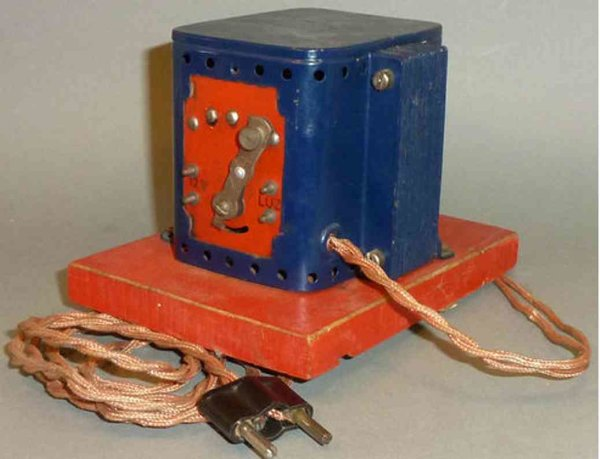PAYA Railway-Rails/Power 12 volt transformer with-sheathed cables