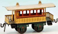 Bing Railway-Passenger Cars Observation summer car with...