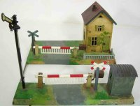 Bub Railway-Crossings/Warden houses Level crossing with...