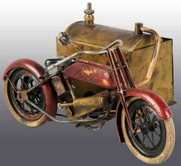 Kuramochi Steam-Vehicles Steam side car Indian motorcycle, believed to have been ma