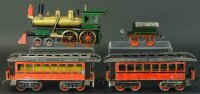 Schoenner Railway-Trains American outline passenger set,...