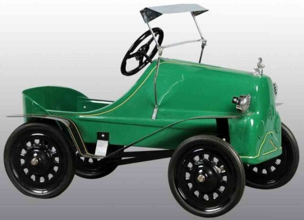 Garton Toy Co Tin-Other-Vehicles Model T Ford pedal car of pressed steel, retored with chrome