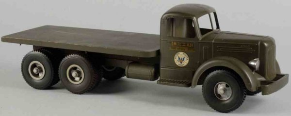 Smith-Miller Military-Vehicles Army truck of pressed steel, Smith-Miller decals on side doo